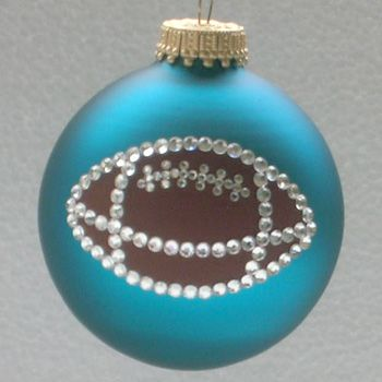Football Ornament - Football Ornament MERRY CHRISTMAS Pinterest Diy Holiday Gifts