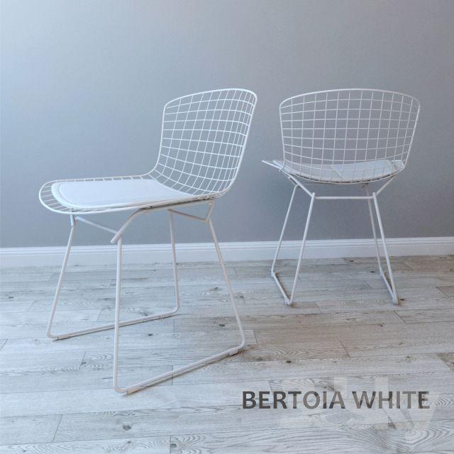 Chair BERTOIA WHITE | 傢俬_椅子 | Pinterest | 3d