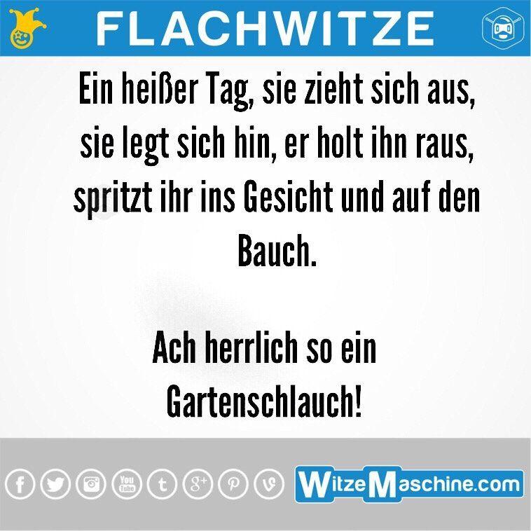 Flachwitze 234 Ins Gesicht Spritzen Witzemaschine Witzige