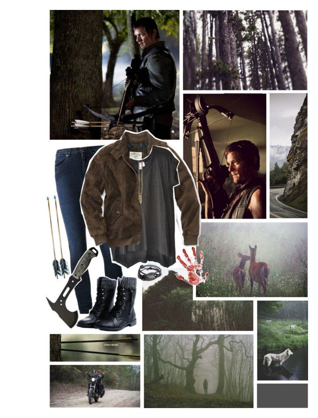 """""""~am I more than you bargained for yet~"""" by robynnkittyy ❤ liked on Polyvore featuring Acne Studios, Wilt, SNOB and thewalkingdead"""