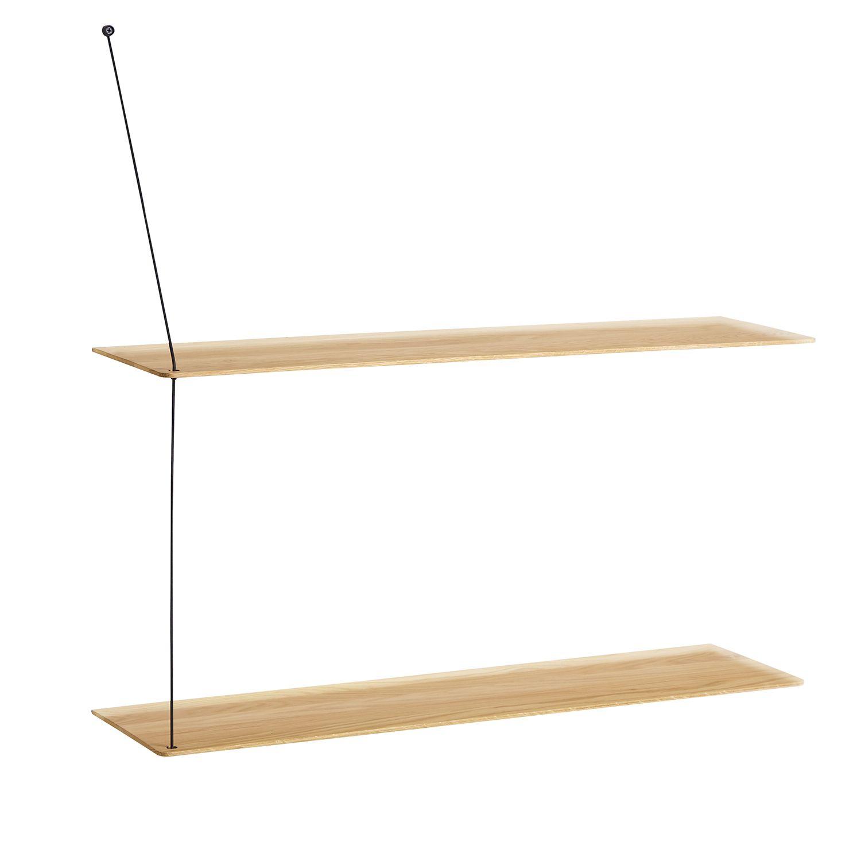 Stedge hylle fra Woud, designet av Leonard Aldenhoff. Stilren skandinavisk design som utstråler enke...