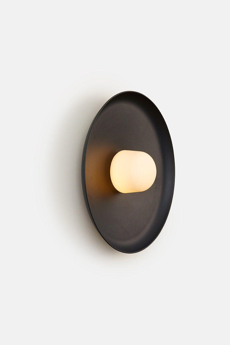 Hoist Sconce Large Black Modern