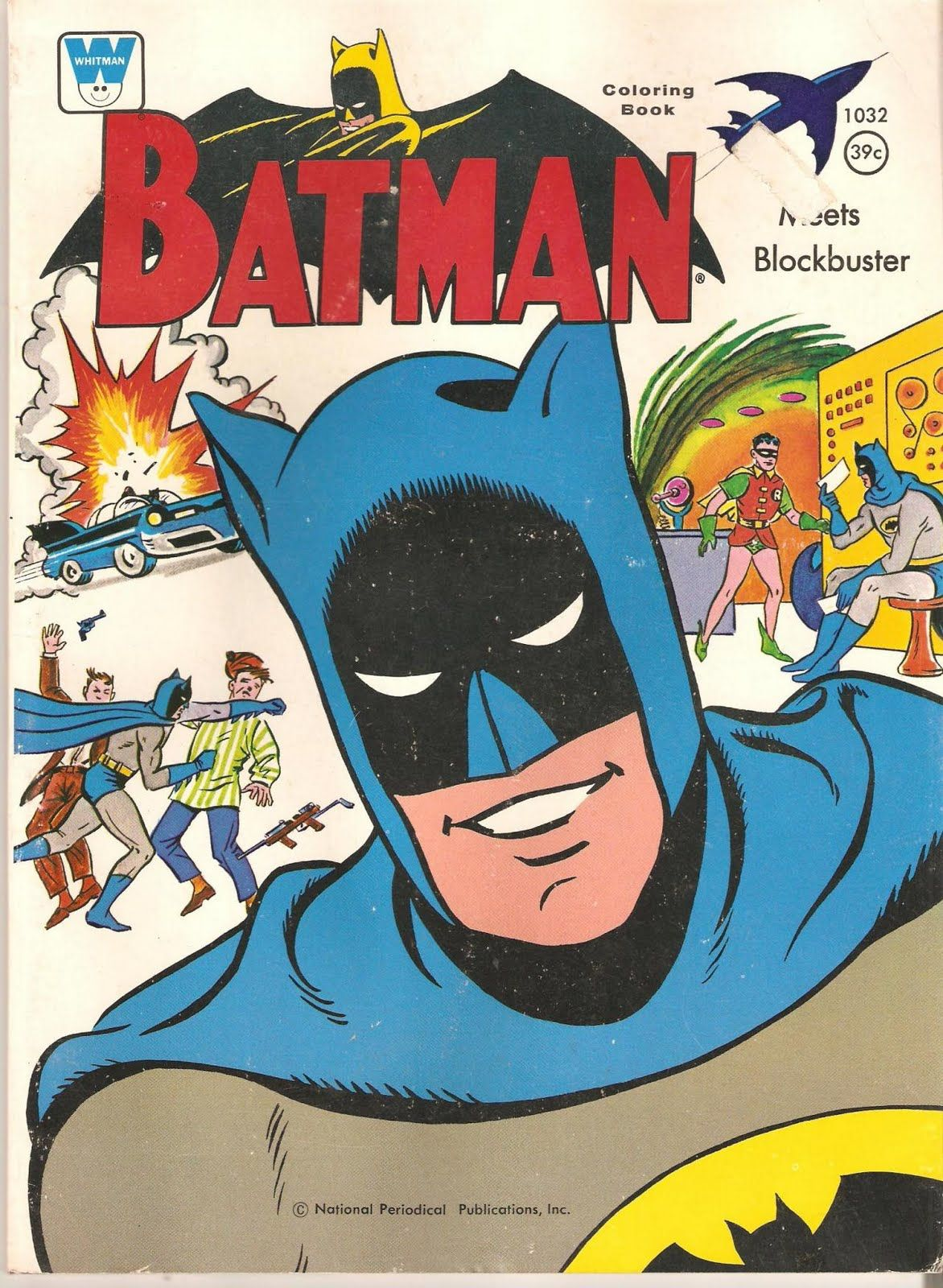 DC Comics Fortress Of Memorabilia Batman Coloring Book