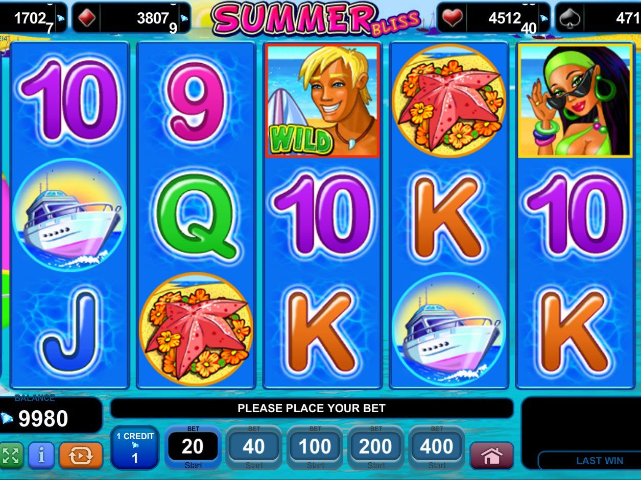 Free Summer Bliss Slot Online »Play Now!«