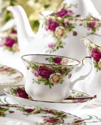 Découvrir la porcelaine anglaise - Charme d\'Antan | mariage zaza ...