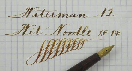 Vintage Pens With Flexible Nibs Super Flex Or Wet Noodle