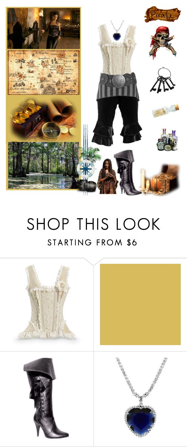 """""""Isle of Pirates - Treasure Hunt!"""" by fashionqueen76 ❤ liked on Polyvore featuring Ellie"""