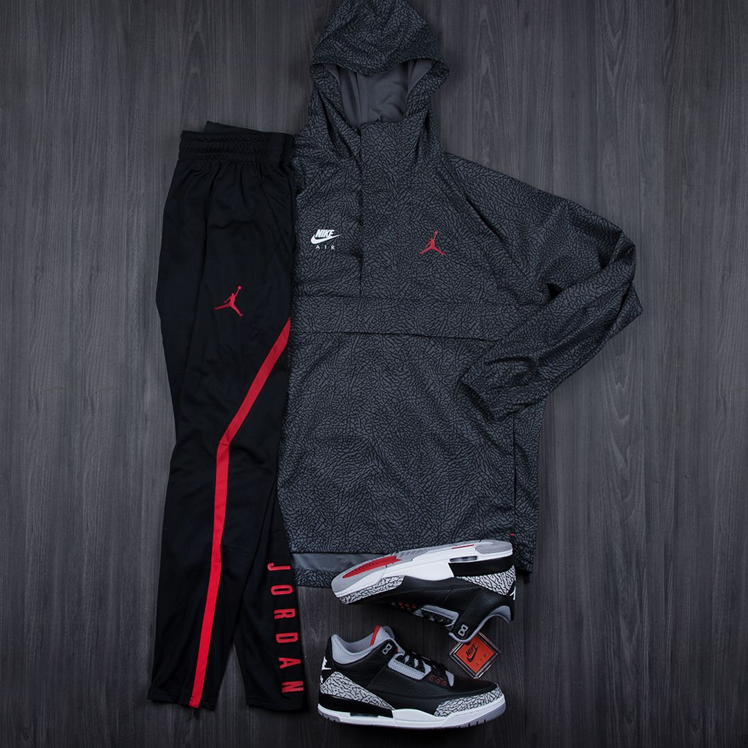 Fitted. #Jordan 3 Apparel now available