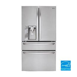 23 cu. ft. Large Capacity Counter Depth French Door Refrigerator w/CustomChill® Drawer