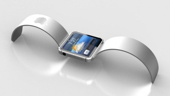 Future technology Concept Apple iWatch