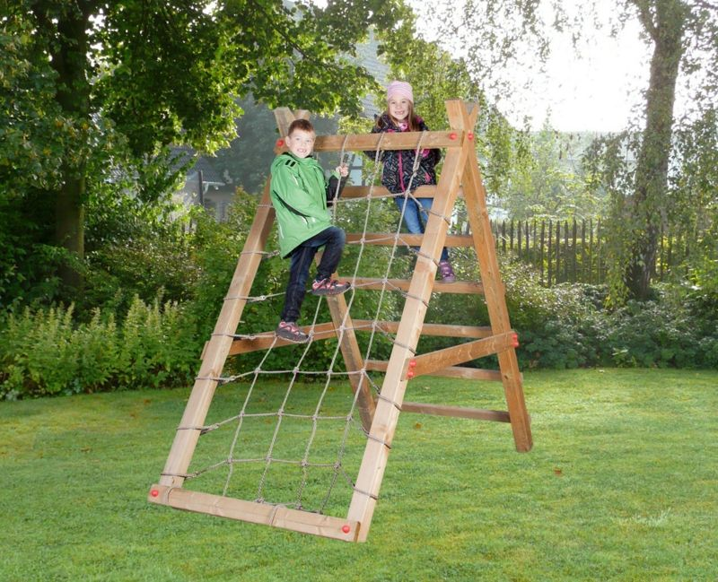 Klettergerüste Für Den Garten : Klettergerüst im garten eine fantastische spielecke für die