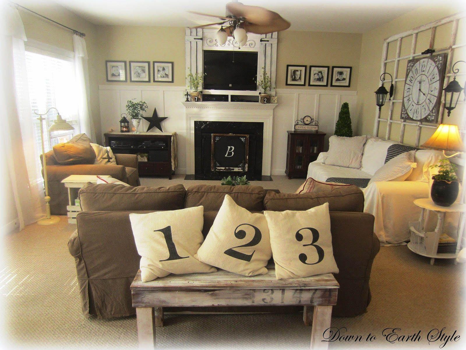Warna Cat Ruang Tamu Agar Terlihat Luas Living Room Decor Furniture Farm House Living Room Rustic Living Room Furniture