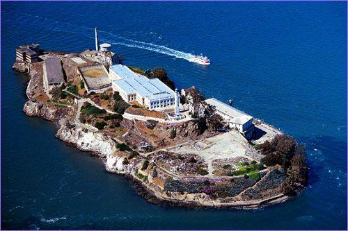 Alcatraz Island Located In The Sf Bay Often Referred To As The
