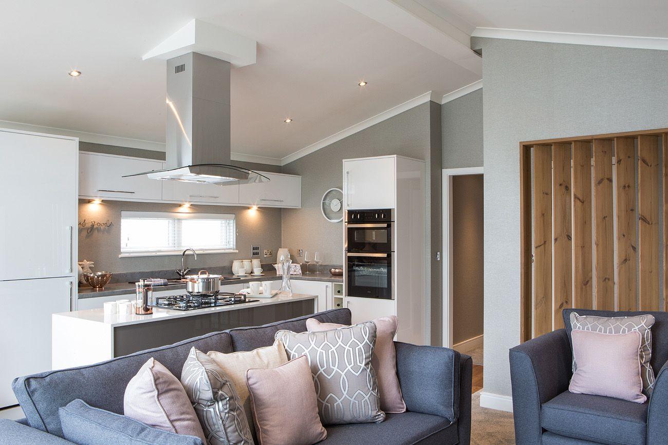Open Plan Lounge Diner Kitchen Kitchen Ideas In 2019 Park Homes