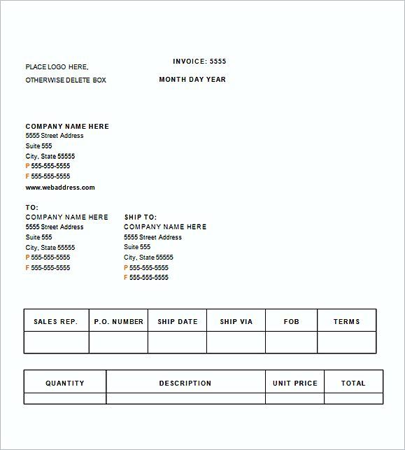 medical invoice templates word , Medical Invoice Template , The - invoices templates word