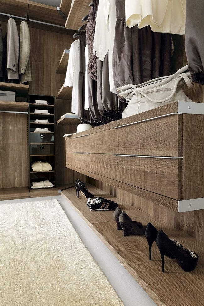 Modern Walk In Wardrobe simple and stylish organizational solution for the modern walk-in