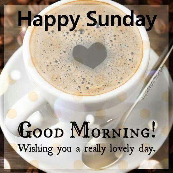 Pin On Happy Sunday Morning
