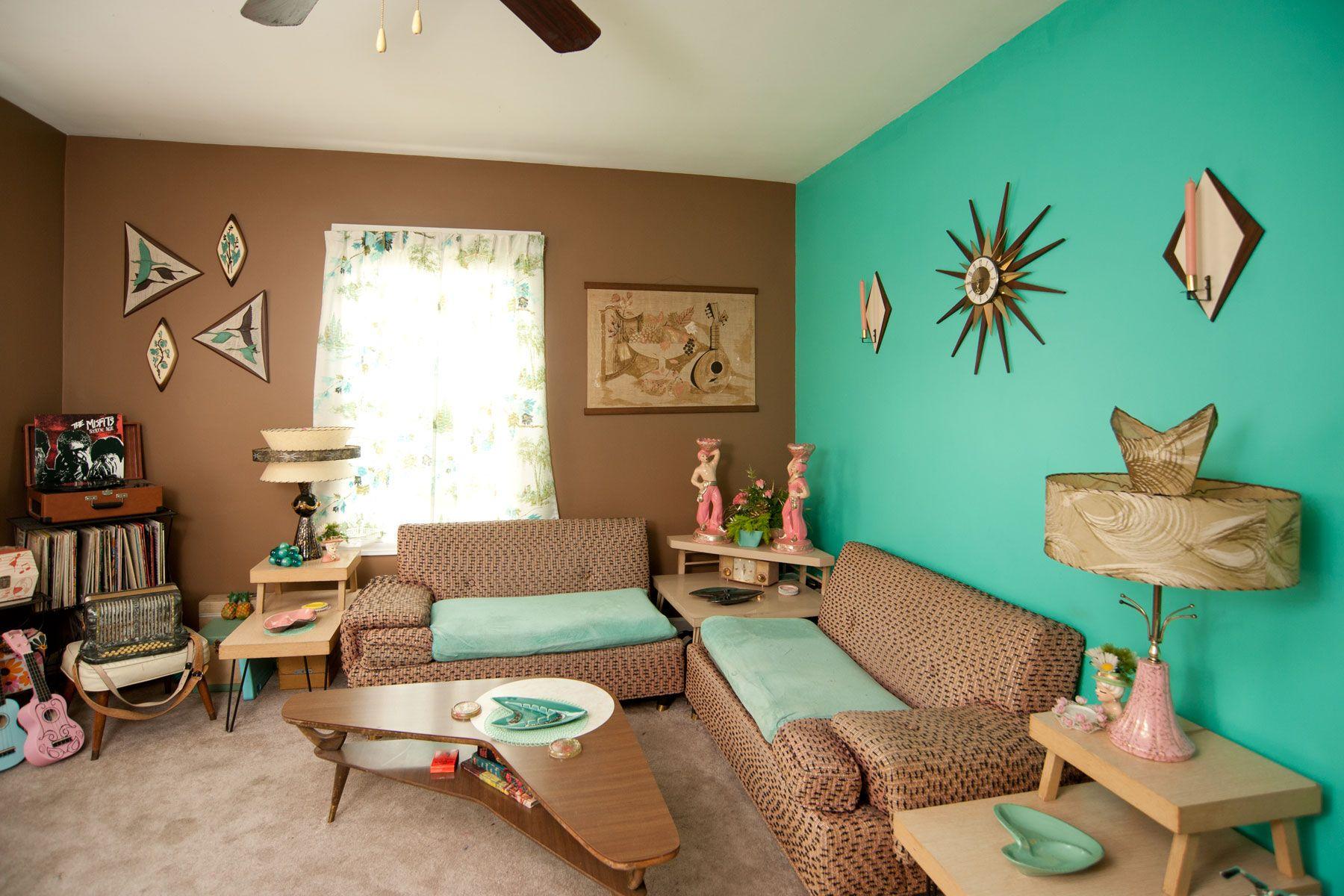 Mid Century Decor With Mandy Ness Mid Century Modern Living Room
