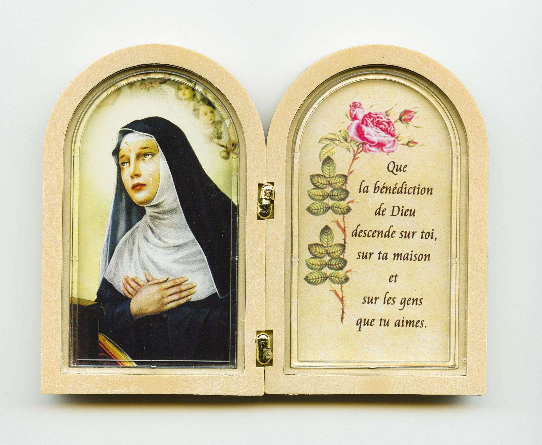 Connu Diptyque Sainte Rita | Religion | Pinterest | Religion ZH98