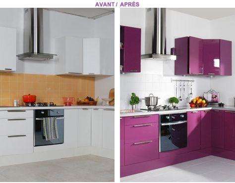 Relooker ses meubles de cuisine peu de frais meuble - Relooker ses meubles de cuisine ...