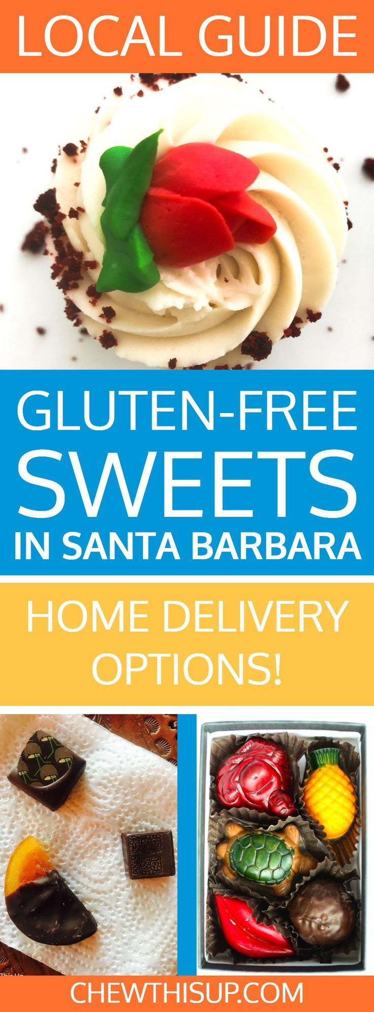 Gluten Free Sweets In Santa Barbara Home Delivery Restaurants You Need To Try Pinterest And Restaurant