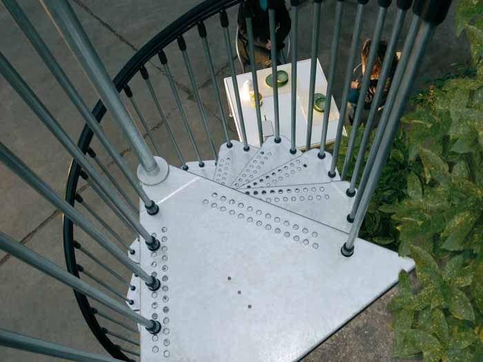 Scale civik zink fontanot scale prefabbricate in kit per esterno facili da montare fontanot - Scale da esterno prefabbricate ...