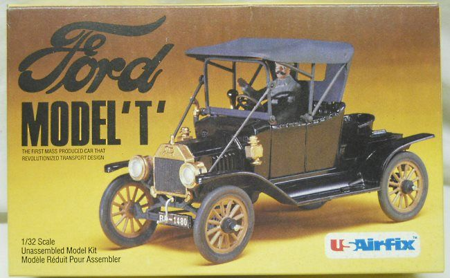 Airfix 1 32 Ford Model T Two Seat Runabout 8203 Plastic Model Kit