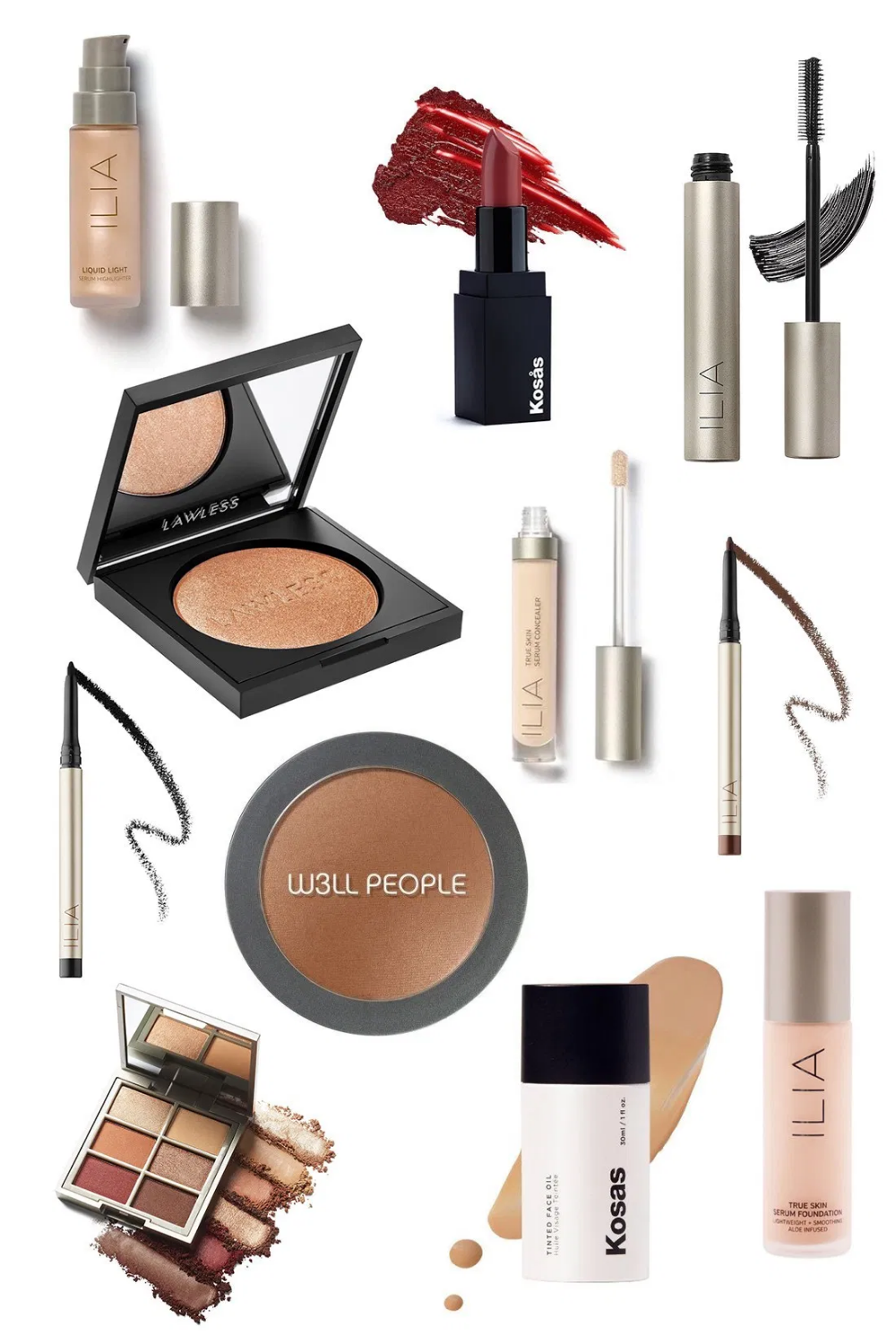 my natural makeup search what I found and what I'm
