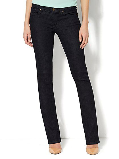 Soho Essential Jeans - Bootcut - Rinse Wash  - New York & Company
