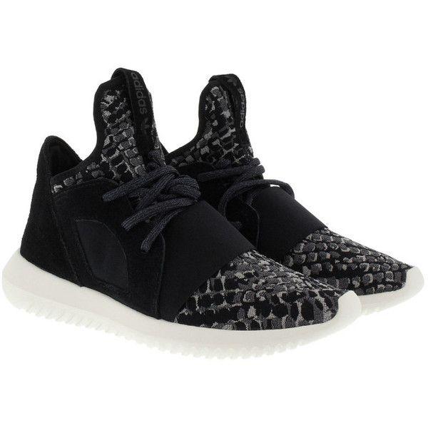 Adidas originali scarpe tubulare defiant w scarpa nera