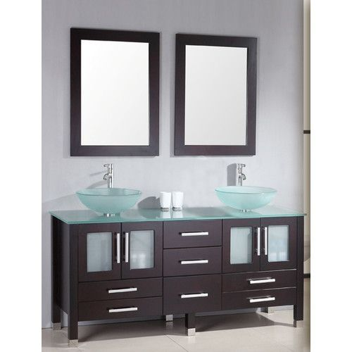 Found It At Wayfair Emerald 64 Double Bathroom Vanity Set With