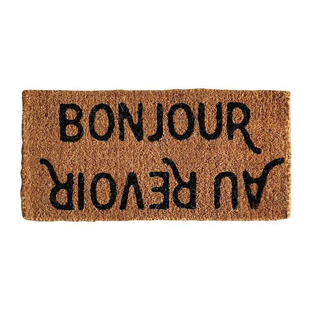 Bonjour Au Revoir Coir Doormat Door Mat Bonjour Outdoor Door Mat
