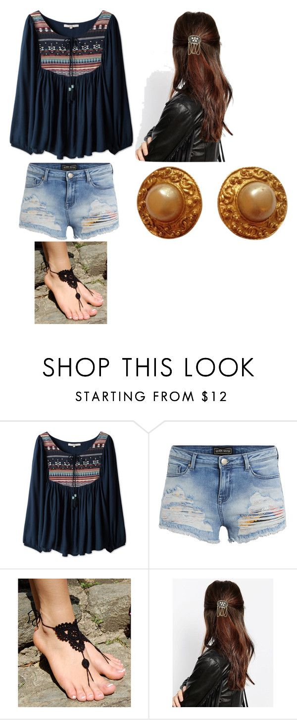 """""""Athena"""" by clarabelle124 ❤ liked on Polyvore featuring DesignSix and Chanel"""