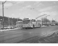 MBTA  Flyer  E800  trackless  trolley