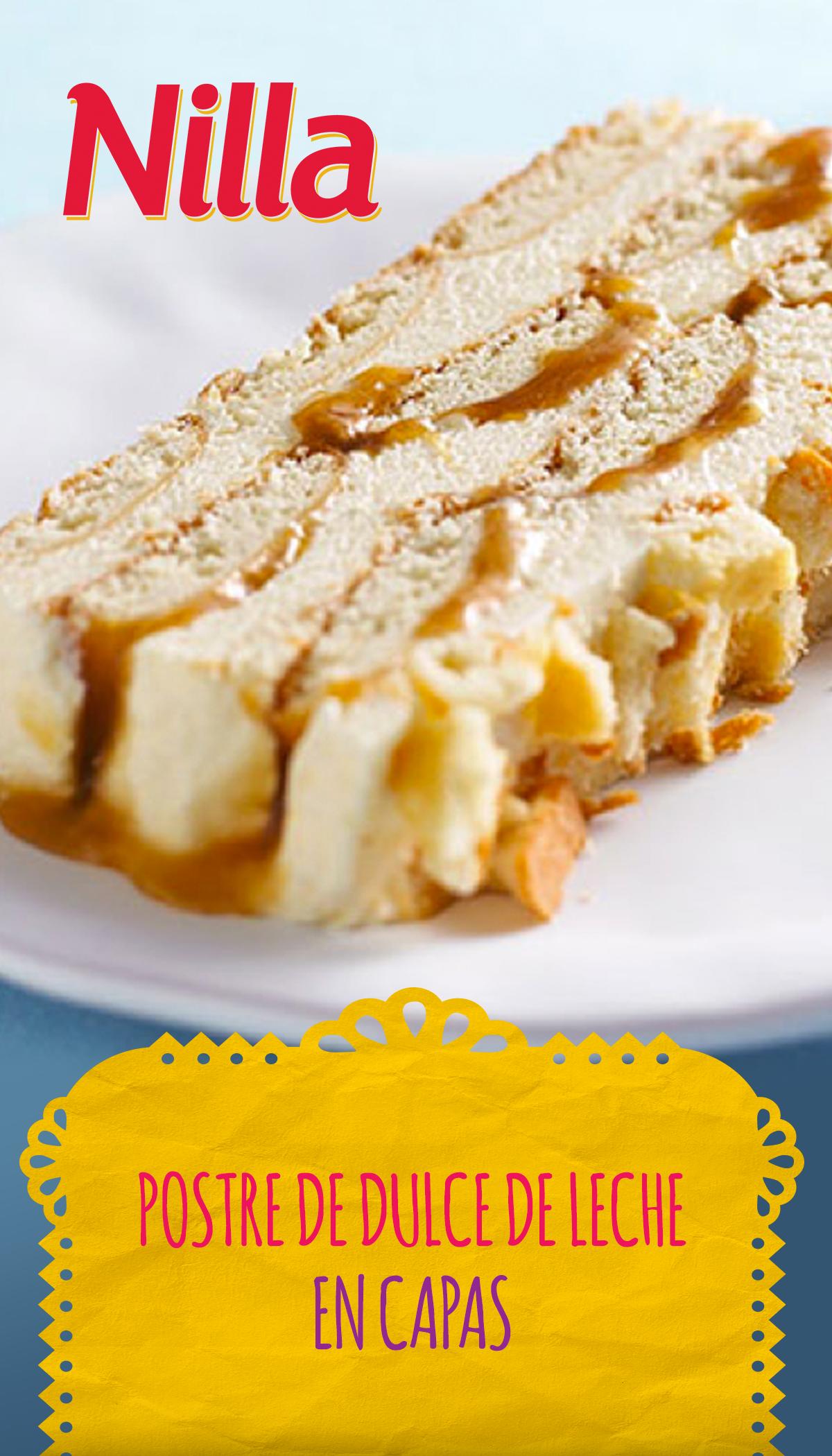 Postre de dulce de leche en capas #ad #LetsMerienda #LatinaBloggers #recetas #MHH