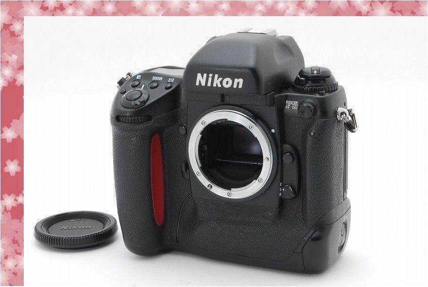 Near Mint Nikon F5 35mm Slr Film Camera Sn No319xxxx Japan 96