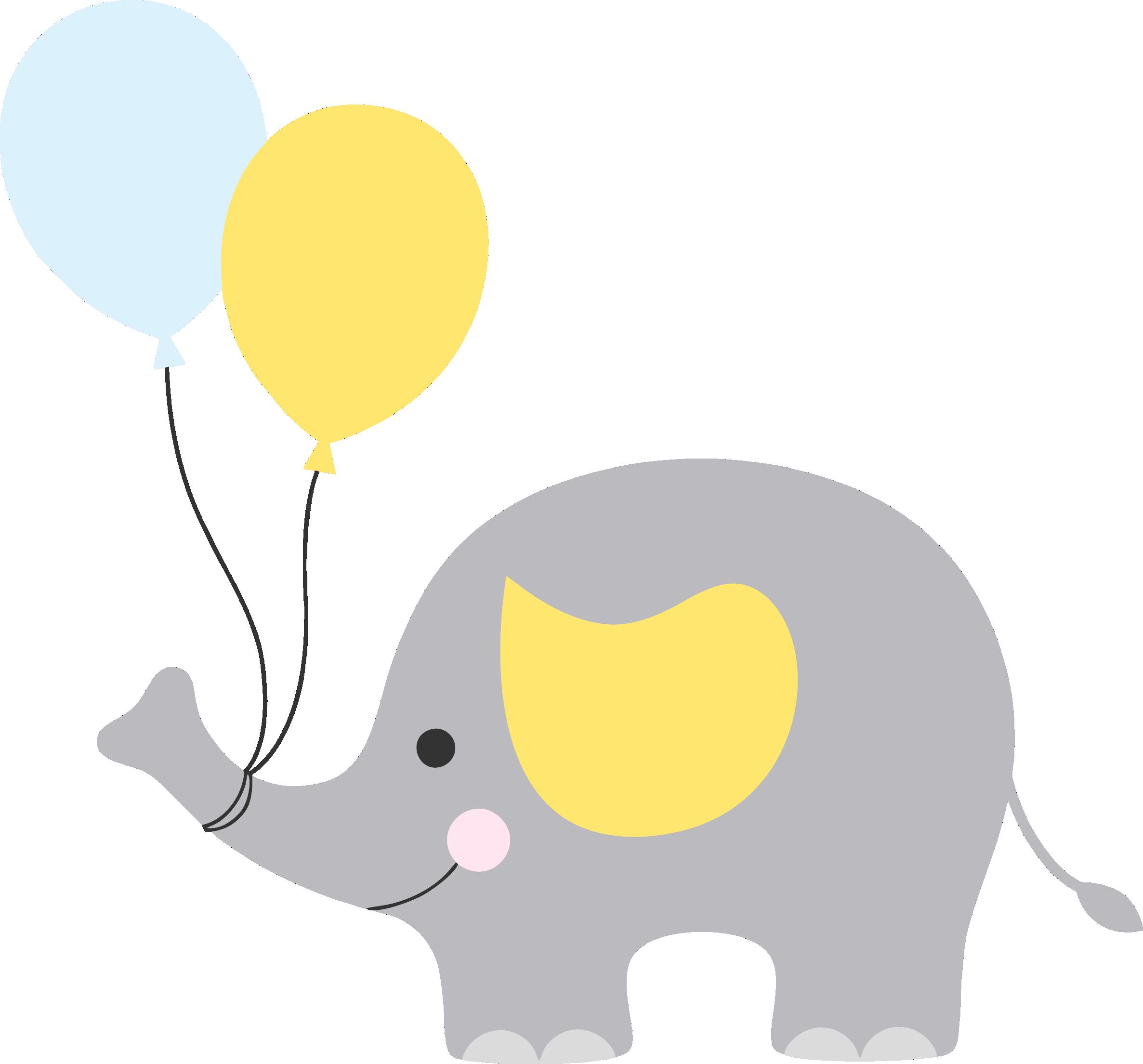 Elefantinho Cha De Bebe Png