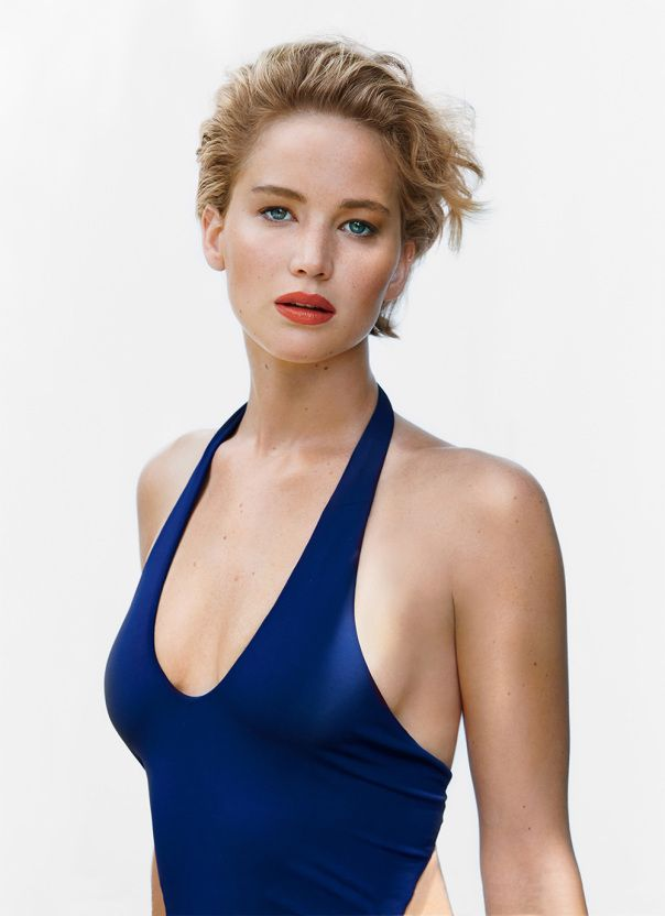We can only assume that actor Jennifer Lawrence had been photographed by Patrick Demarchelier a...