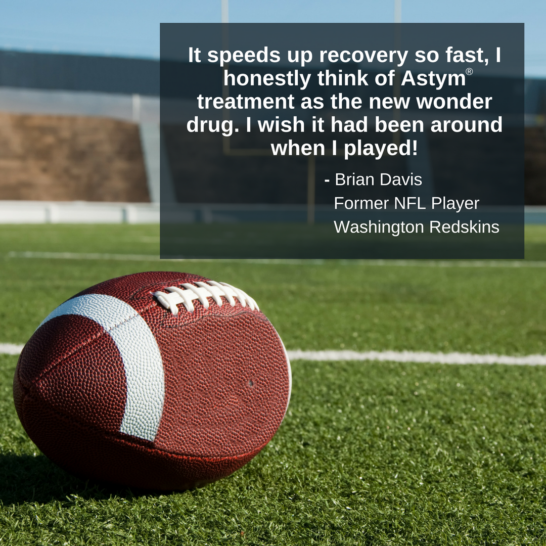 NFL Players Embrace Astym therapy Nfl, Therapy, Brian davis