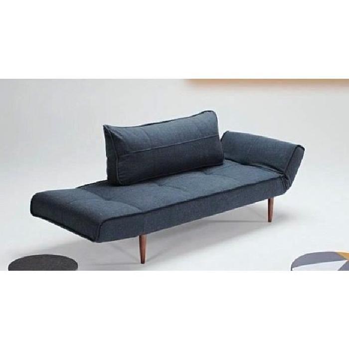 Canape Design Zeal Styletto Nist Blue Convertible Lit 200 70 Cm Canape Lit Design Canape Design Canape Convertible Design