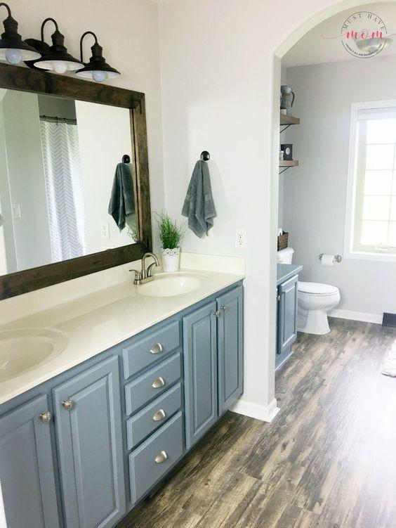 diy fixer upper bathroom on a budget farmhouse bathroom