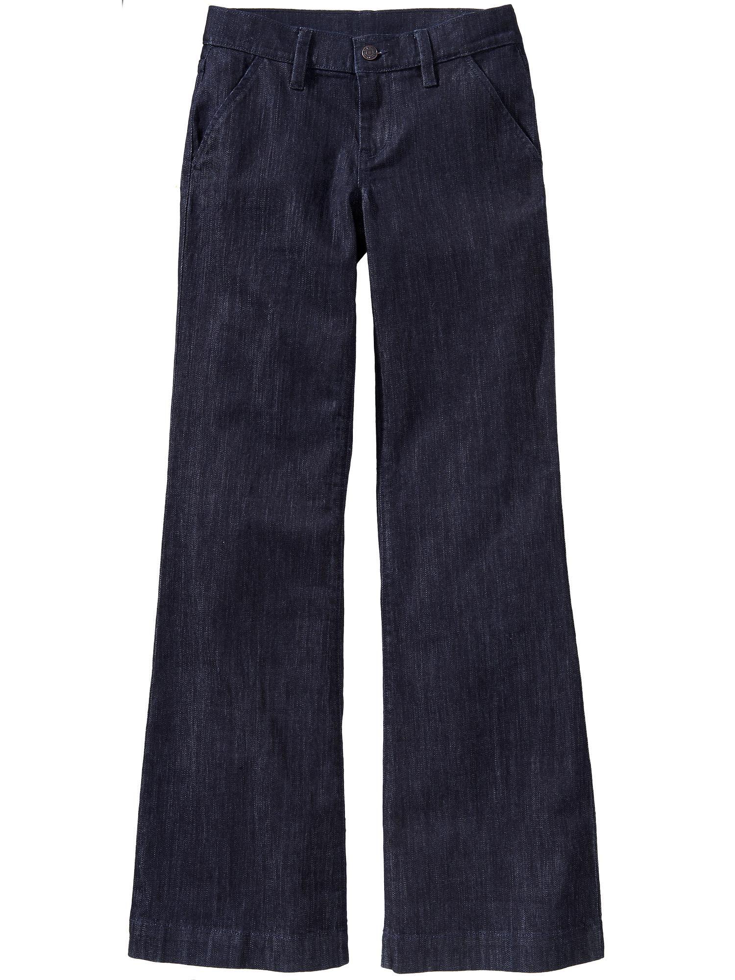 910abdc2564f4f Women's Wide-Leg Trouser Jeans Old Navy | Style>Jeans | Trouser ...