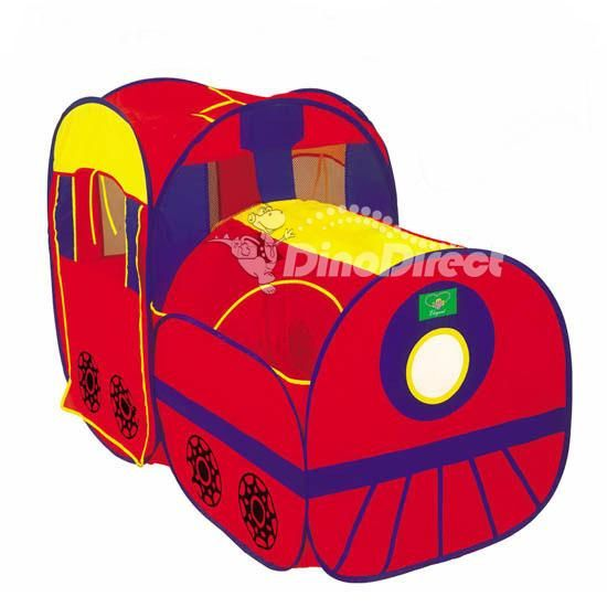Durable Non-woven Train Style Kids Play Tent Playhouse  sc 1 st  Pinterest & Durable Non-woven Train Style Kids Play Tent Playhouse | Kid Play ...
