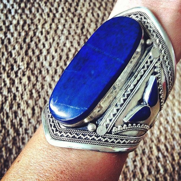 Don't be jealous get your own! by @Farshad Family Family Family Inanlou Gypsy via Instagram #lapis #silver #cuff @Veronique van Oorschot van Oorschot van Oorschot van Oorschot Basle-Crow @samancajewelry