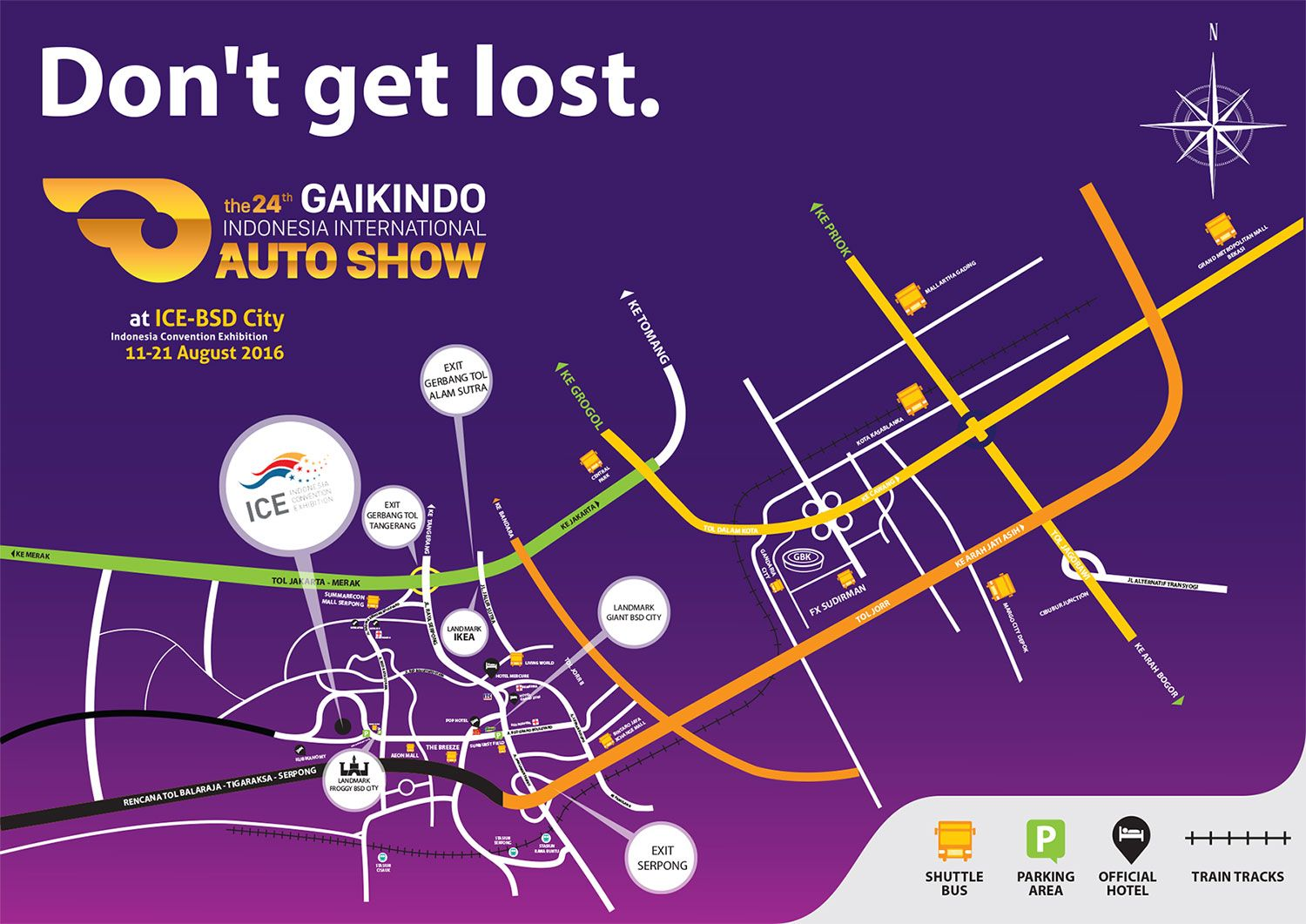 GAIKINDO INDONESIA INTERNATIONAL AUTO SHOW 2016 Indonesia