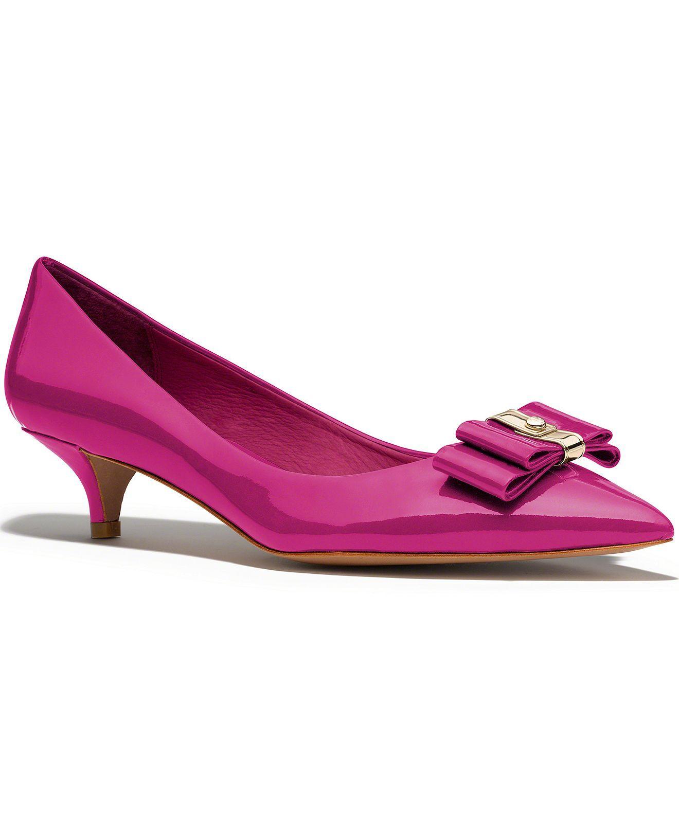 a3ca3a11406 COACH MANDY PUMP - Coach Shoes - Handbags   Accessories - Macy s ...