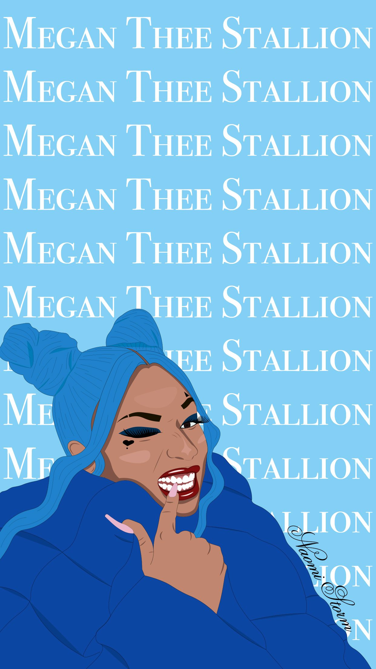 Megan Thee Stallion In 2020 Cute Disney Quotes Colourful Wallpaper Iphone Rapper Wallpaper Iphone