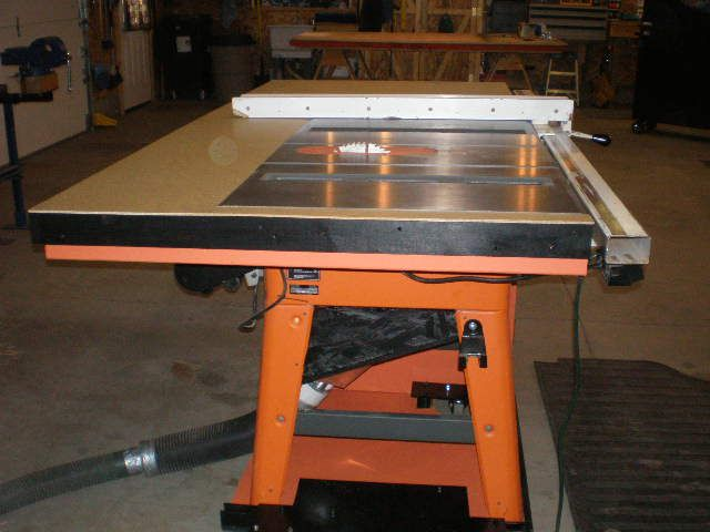 Built Table Saw Upgrade Ts3650 Ridgid