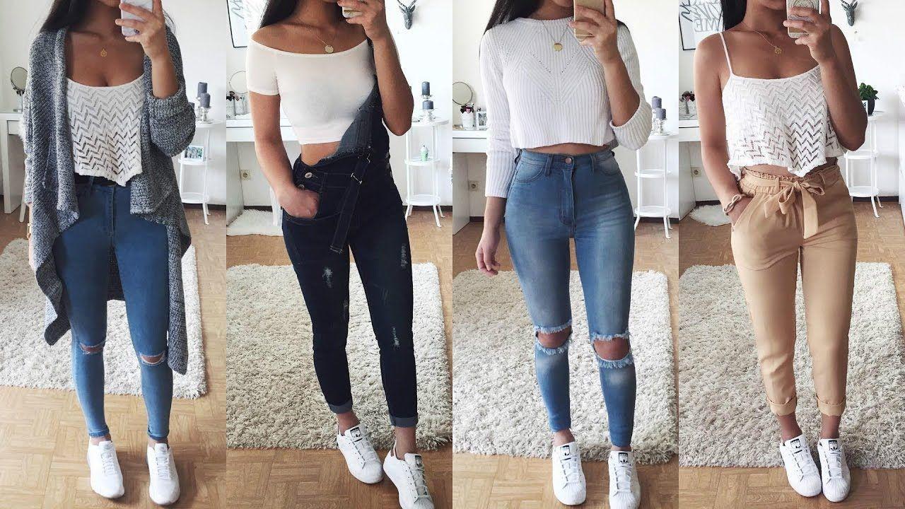 4da20cd4ce07 Resultado de imagen para ropa de moda para mujer joven 2017 | Adidas ...