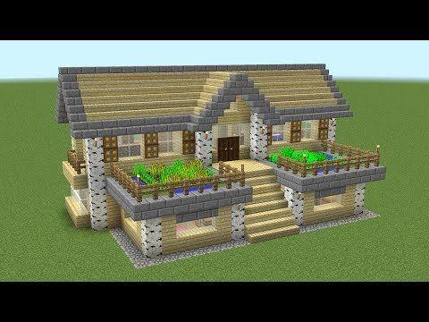 Minecraft How To Build A Birch Survival House Minecraft Servers Web Msw Channel Minecraft Tutorial Minecraft Designs Easy Minecraft Houses